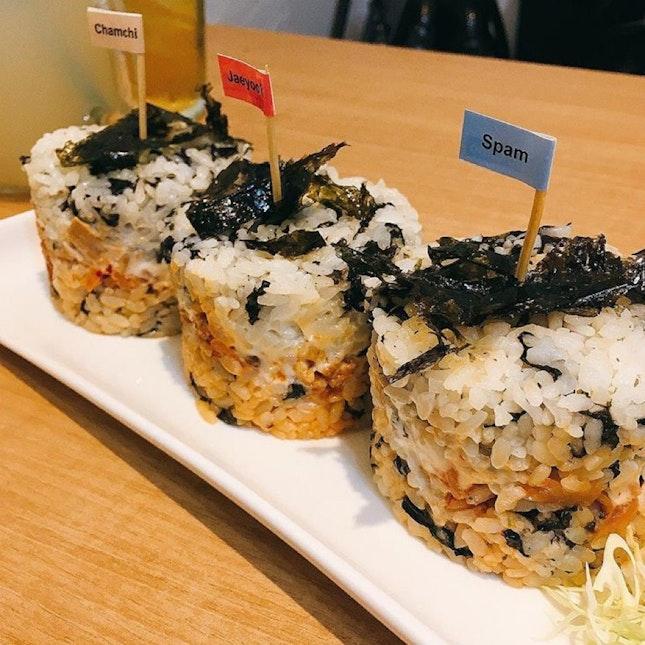Mini Rice Burgers
