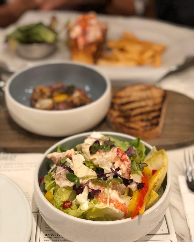Lobster Salad ($30 Half Portion)