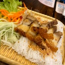 Rice Vermicelli Wrap With Crispy Roasted Pork Belly $6.90