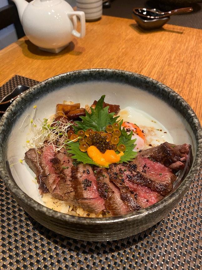 Kagoshima A5 Tenderloin Donburi $148++