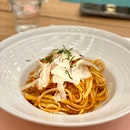 Spicy Crabmeat Pasta $26++
