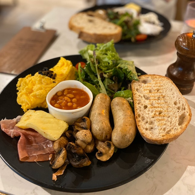 The Academics Breakfast $25 With Scrambled Eggs