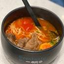 Tomato Base Wagyu Beef Noodles $15.90