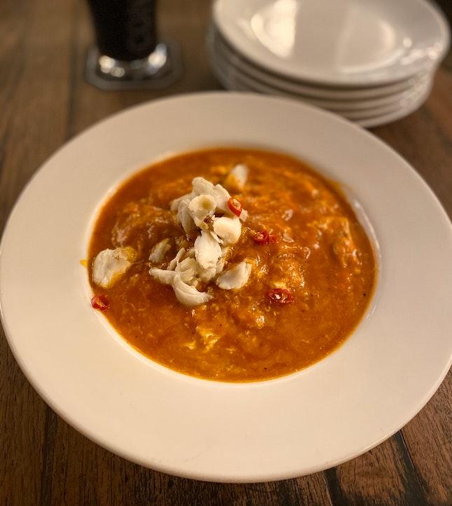 Chilli Crab Pasta (full $25)