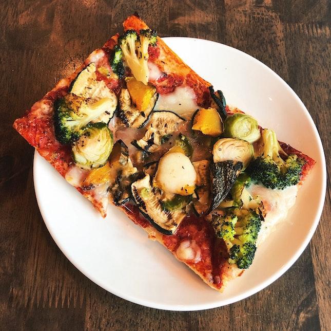 Vegetable Pizza [$8.25]
