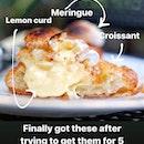 Lemon Meringue Croissant [$5]
