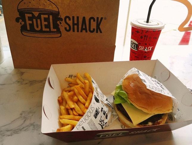 The Classic Burger - Fuel Shack
