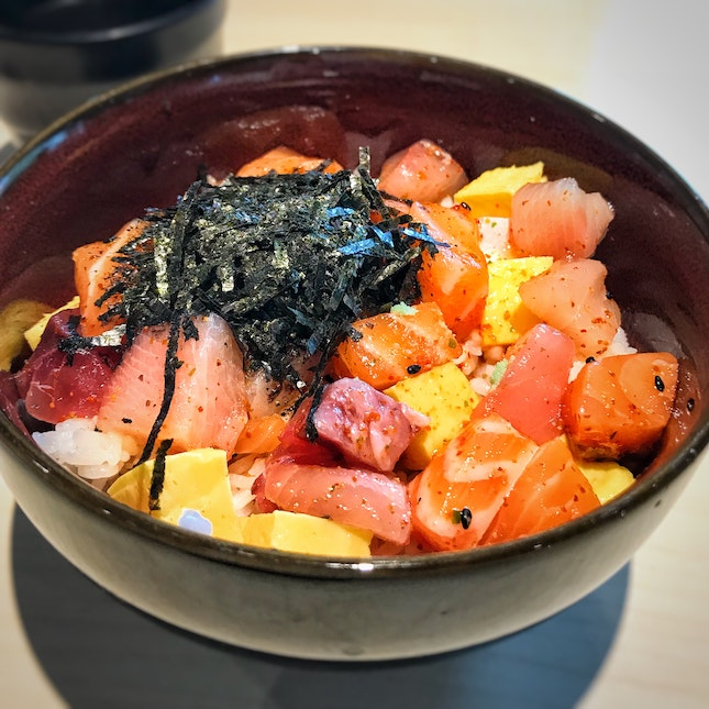 Signature Bara Chirashi (1-for-1, $16 lunch, $19 dinner)