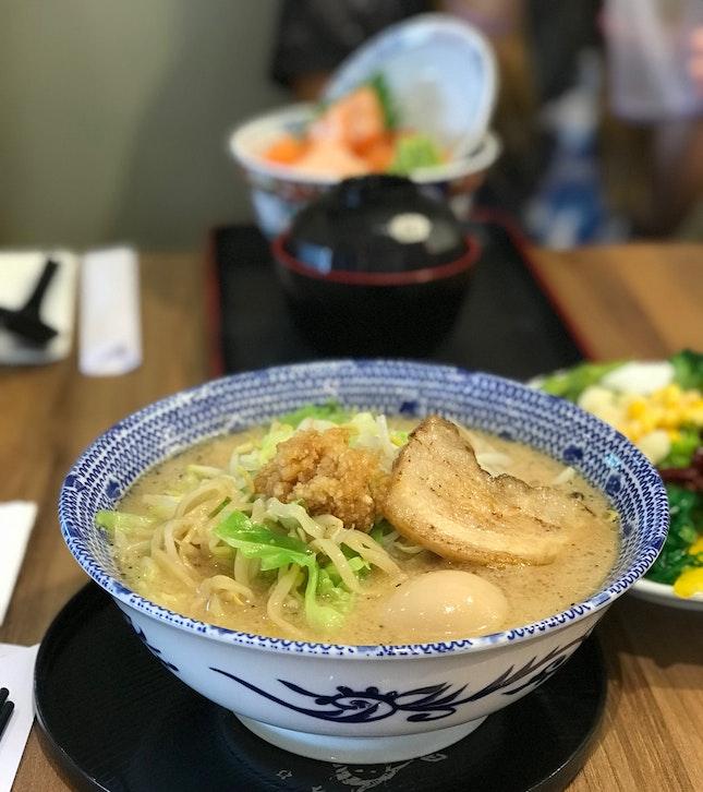 Stamina Tonkatsu Ramen ($10++ Weekday Student Meal)