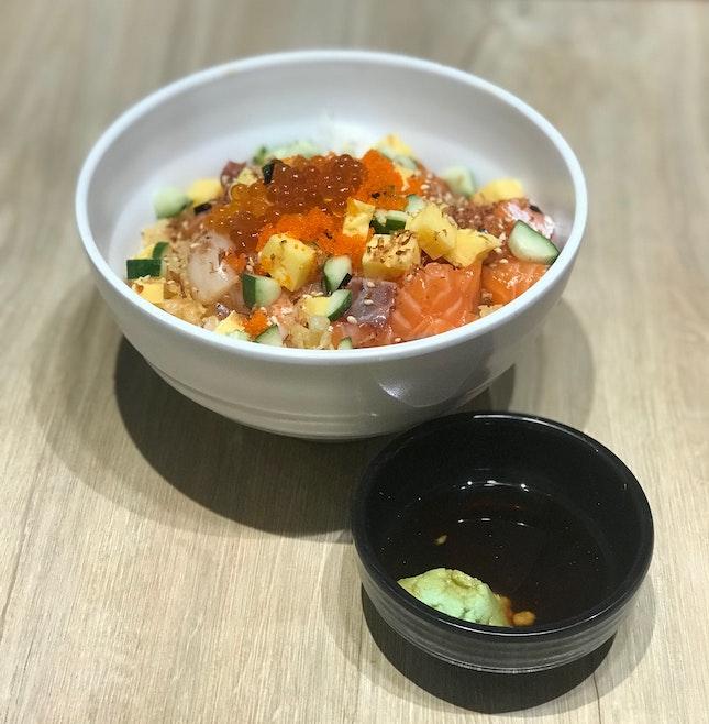 Chirashi Bowl ($14.90++)