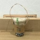 Dong Ding Oolong Fresh Milk Tea ($4.70) + Bubbles ($0.50)