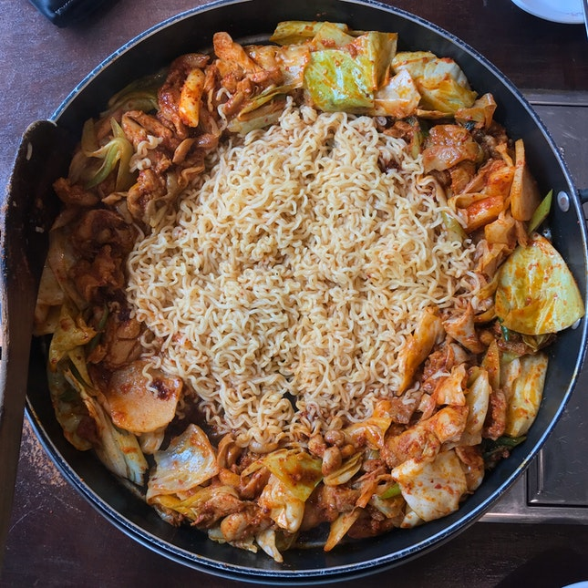 Chicken Galbi L ($30.80++)