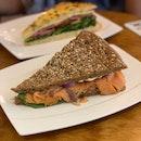Smoked Salmon Kraftwich ($9.80)
