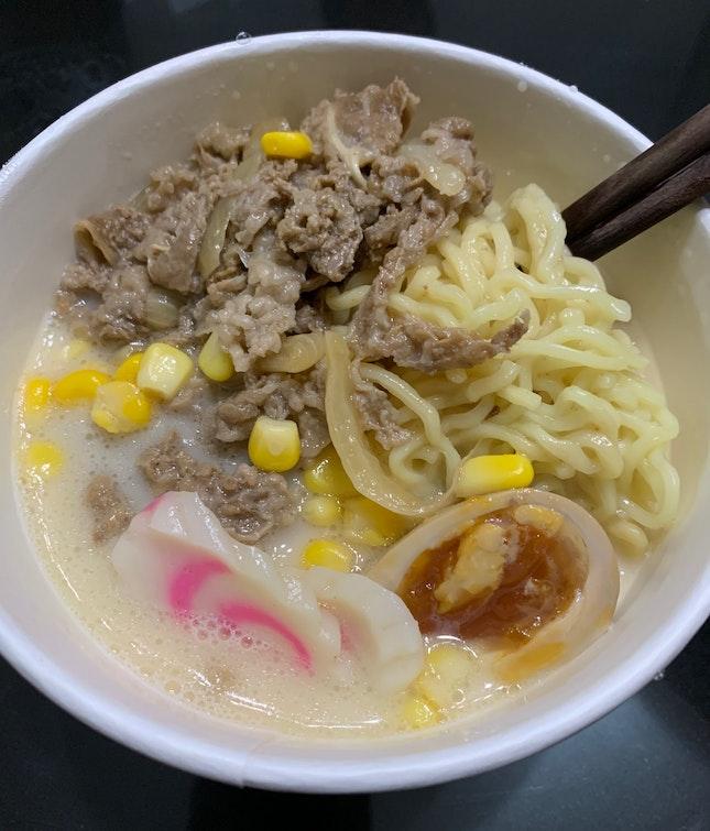 Beef Ramen ($9.90)