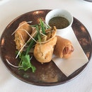 Chicken 'Laksa' Spring Roll (Part of the 3-Course Express Prix Fixe Menu $45)