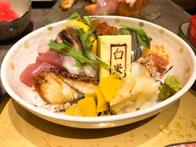 Chirashi Gozen $39.80