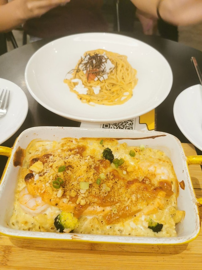 Mentaiko Pasta and Ultimate Mac and Cheese