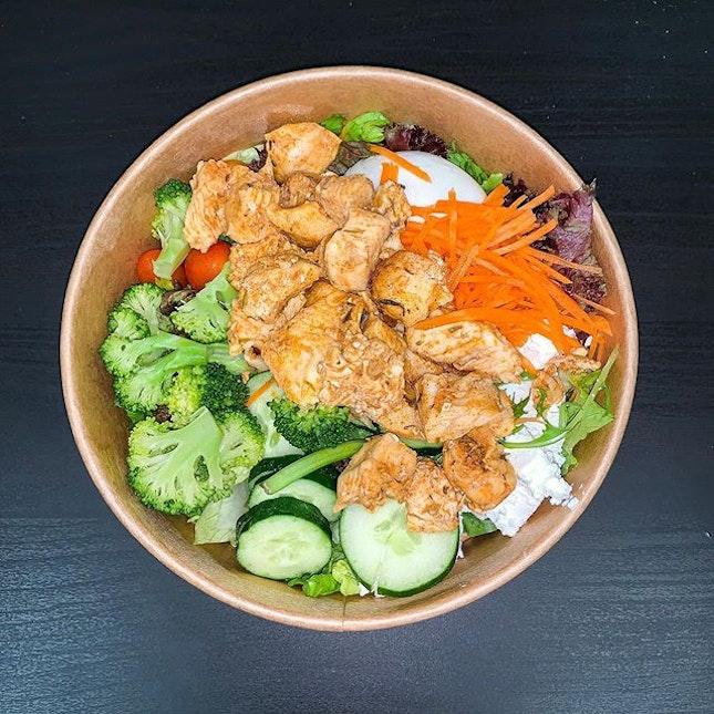 Cajun Chicken Salad ($12.80).