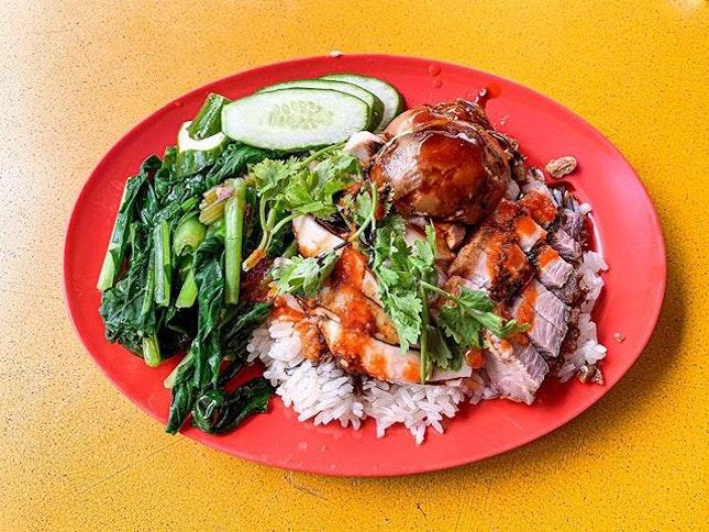 Xiang Ji Hainanese Chicken Rice ($6.50).