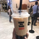 Milk Tea With Brown Sugar Pearls ($4.90)