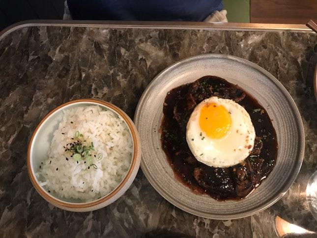 Beef Ribeye Rice - $25