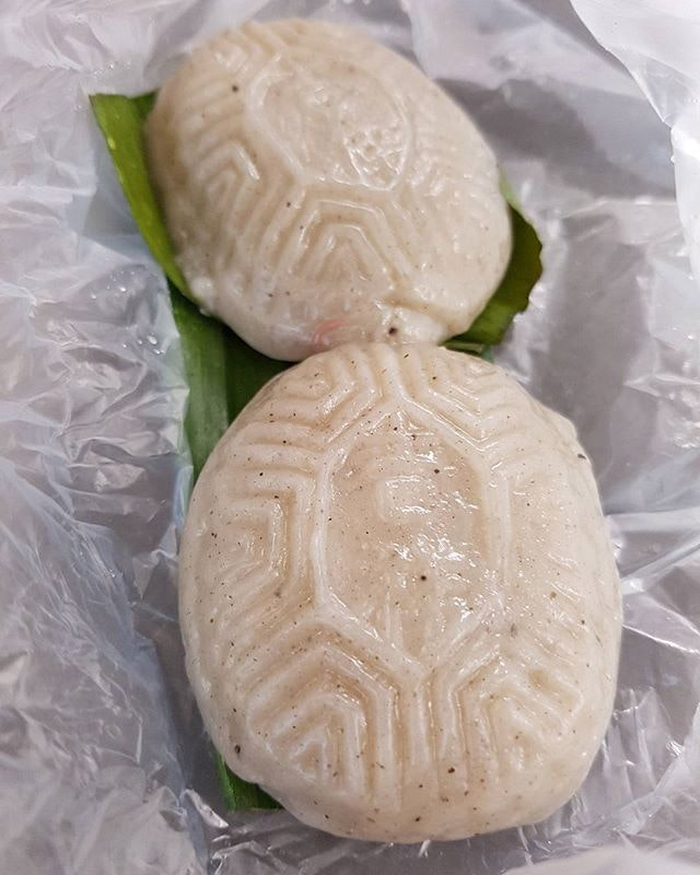 Salted bean ang ku kueh - $0.80 each!