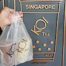 Happy birthday from KOI - ovaltine ice cream ($4.20) and lemon yakult juice with aloe vera ($7.50)!