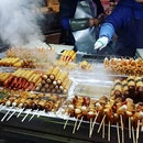 Night market street food 😍😋 .