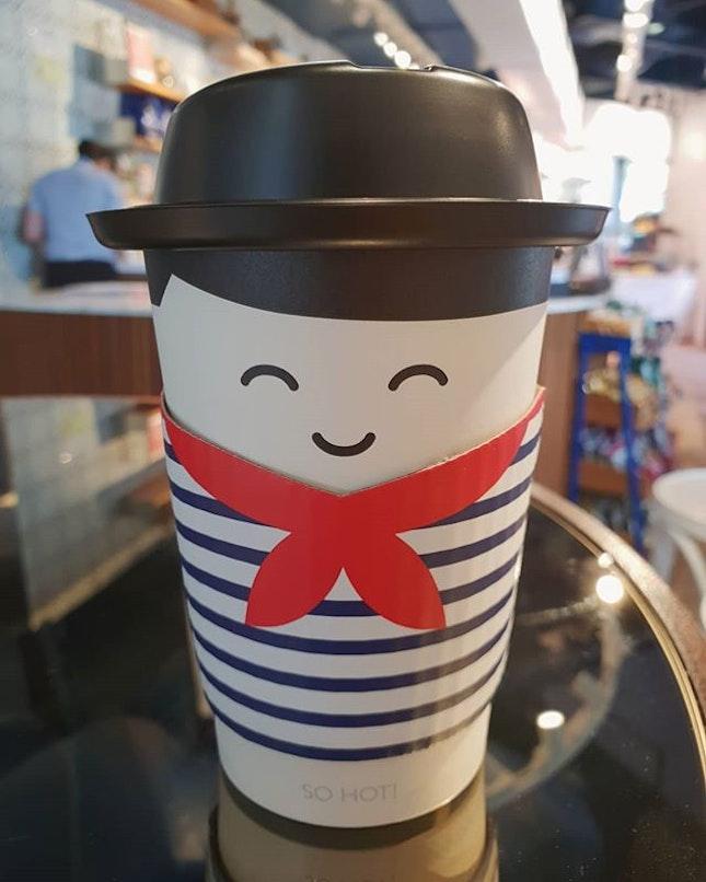 Favourite green tea latte ($5.50) 😍😋👍🏼 .