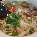 Grilled pork belly and chicken pho ($10.90)!