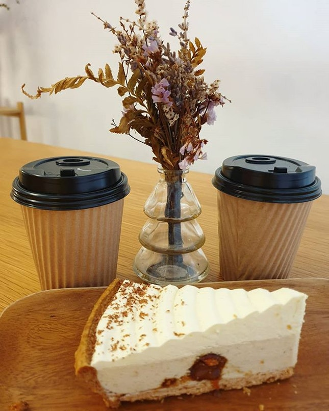 Americano ($4); Cocoa latte ($5); Banana cognac pie ($7)!
