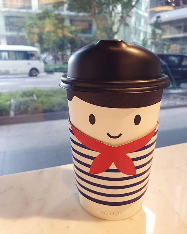 Green tea latte ($5.50)!