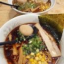 Tokusen shoyu & Miso tonkotsu ($17.50++ each)!