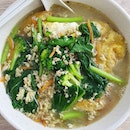 Ginger egg mee sua soup ($6)!