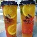 Mix fruit king oolong tea (burpple beyond: $5.80)!