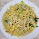 Vegetarian hokkien noodles ($4.50)!