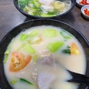 Sliced fish soup ($5.80 each)!