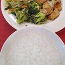 杂菜 + 粥 ($2.80)!