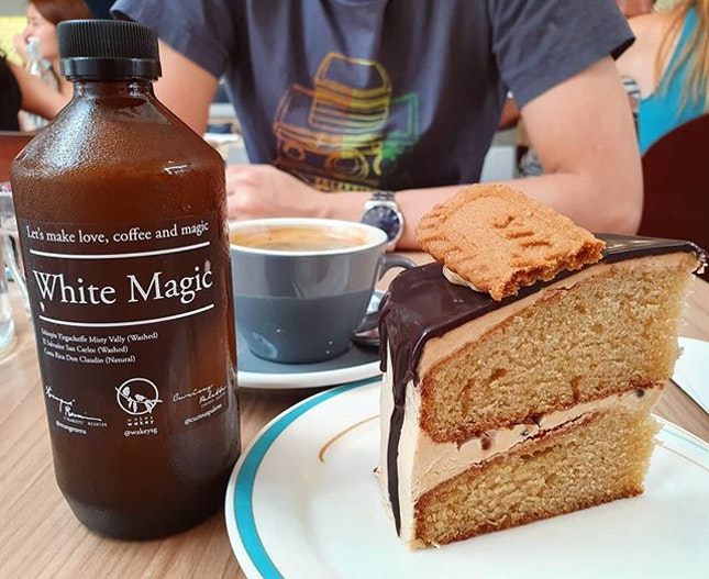 White magic ($6.90++); Black coffee ($4.90++); Speculoos chocolate chip ($8.50++)!