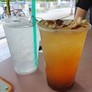 Orange peel and sour plum drink ($1.50)!