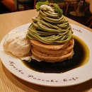 Pancakes at this joint @kyushupancake.sg .