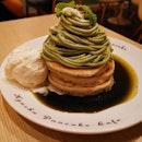 Pancakes at this joint @kyushupancake.sg .
