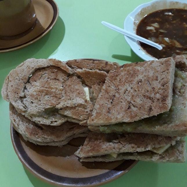Really good kaya toast