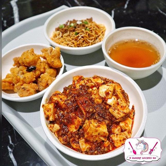 Chen's Mapo Tofu.