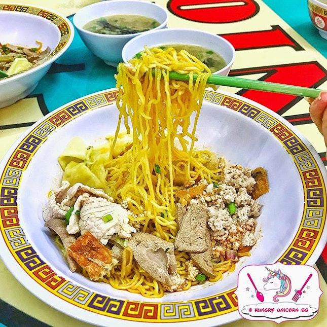 Hill Street Tai Wah Street Pork Noodle.