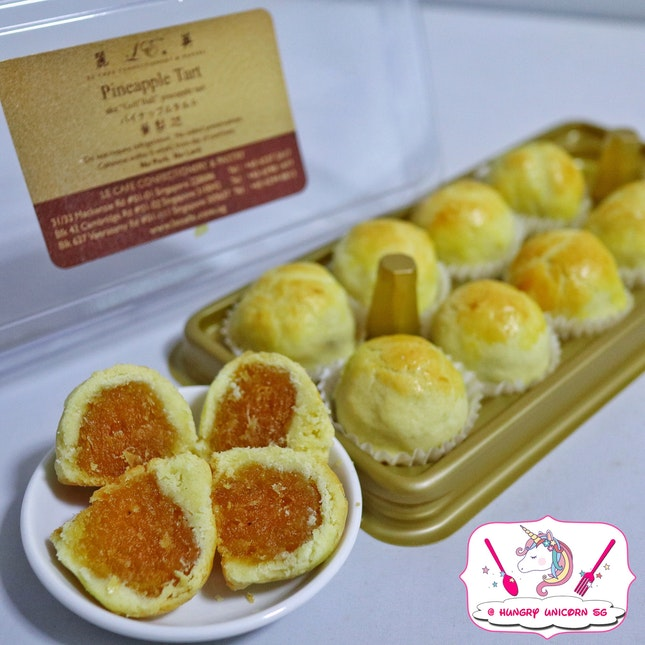 "Pineapple Tarts ""Golf Balls"""