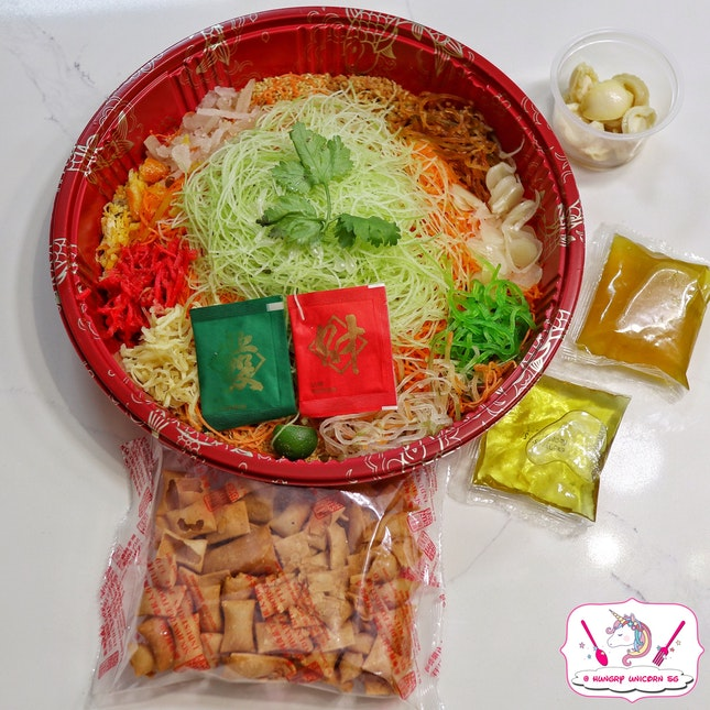 Baby Abalone Yu Sheng