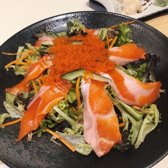 Salmon Salad (RM20+)