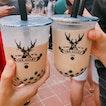 Brown Sugar Deerioca Milk & Royal No 9 Milk Tea