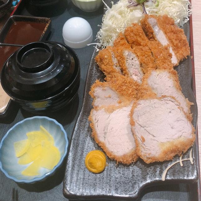 Tonkatsu - pork set for 2 (RM55+)